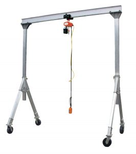 Gantry Crane to use with IBC Tote Mixers
