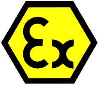Ex Symbol for ATEX approved air motoes
