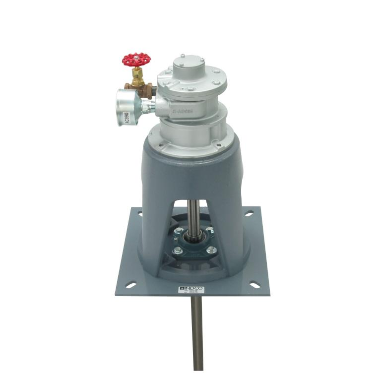 4 HP Air Direct Drive Plate Mount Mixer Image