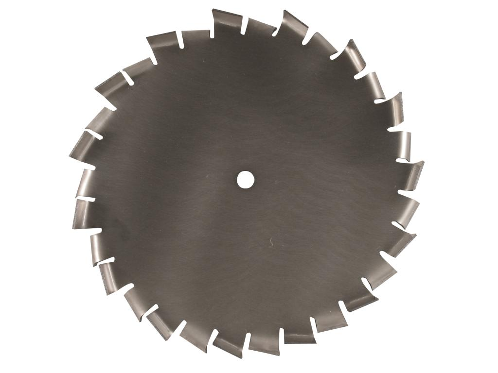 "12"" Dia. X 5/8"" Center Hole Type B 304 SS Dispersion Blade Image"