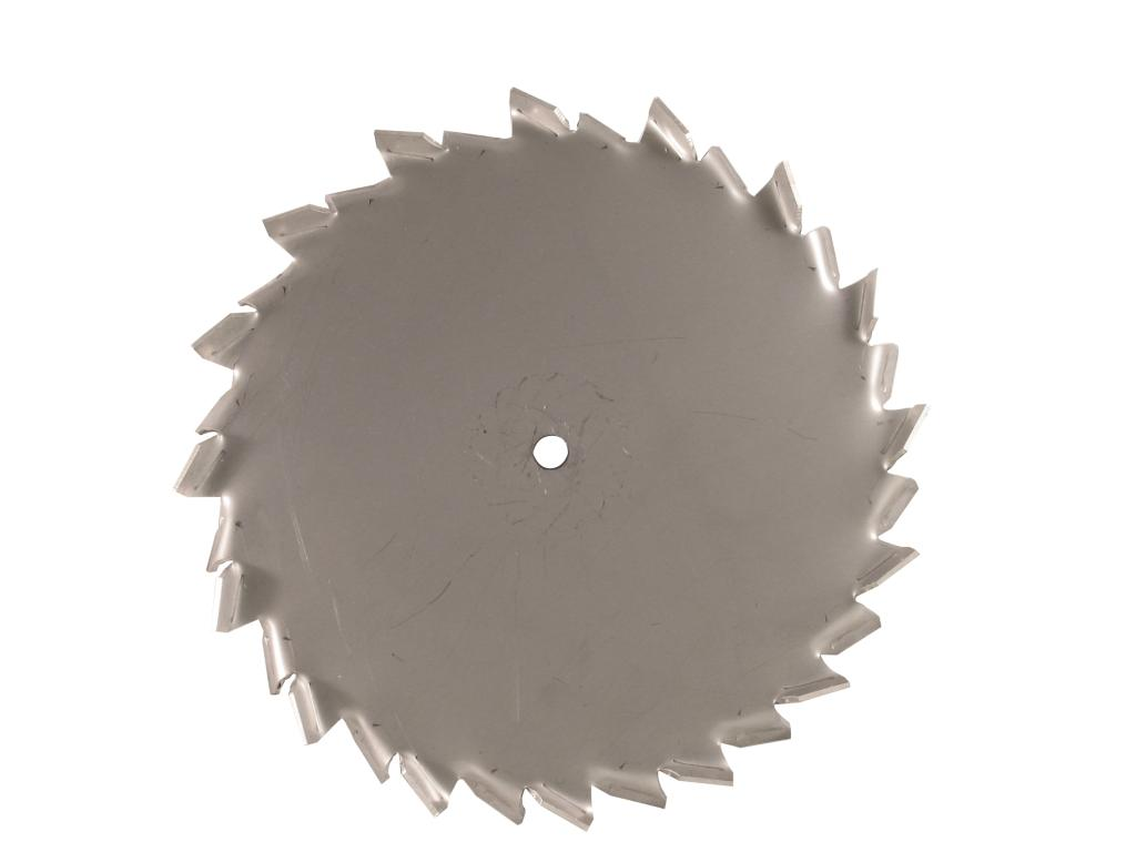 "15"" Dia. X 5/8"" Center Hole Type A 304 SS Dispersion Blade Image"