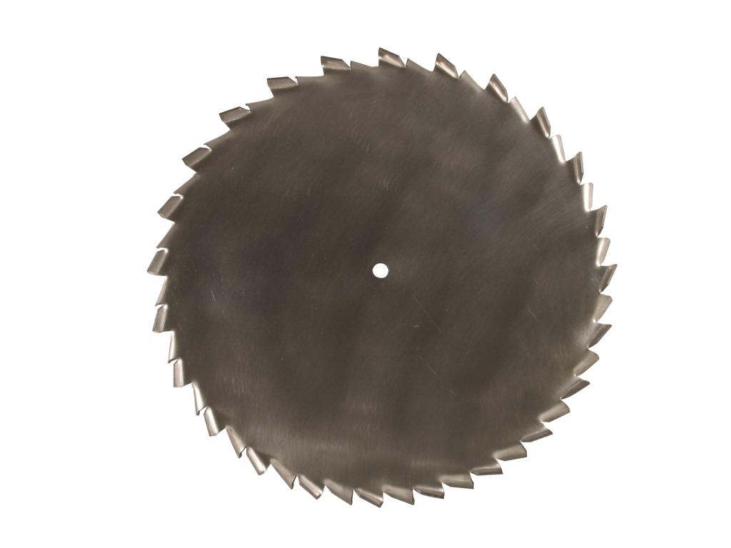 "19"" Dia. X 5/8"" Center Hole Type A 304 SS Dispersion Blade Image"