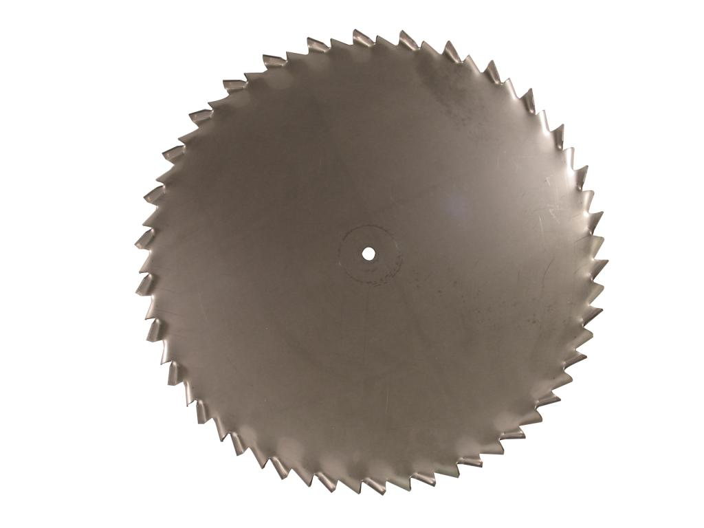"20"" Dia. X 5/8"" Center Hole Type A 304 SS Dispersion Blade Image"