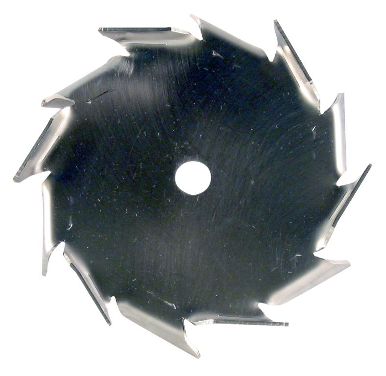 "5"" Dia. X 1/2"" Center Hole Type A 304 SS Dispersion Blade Image"