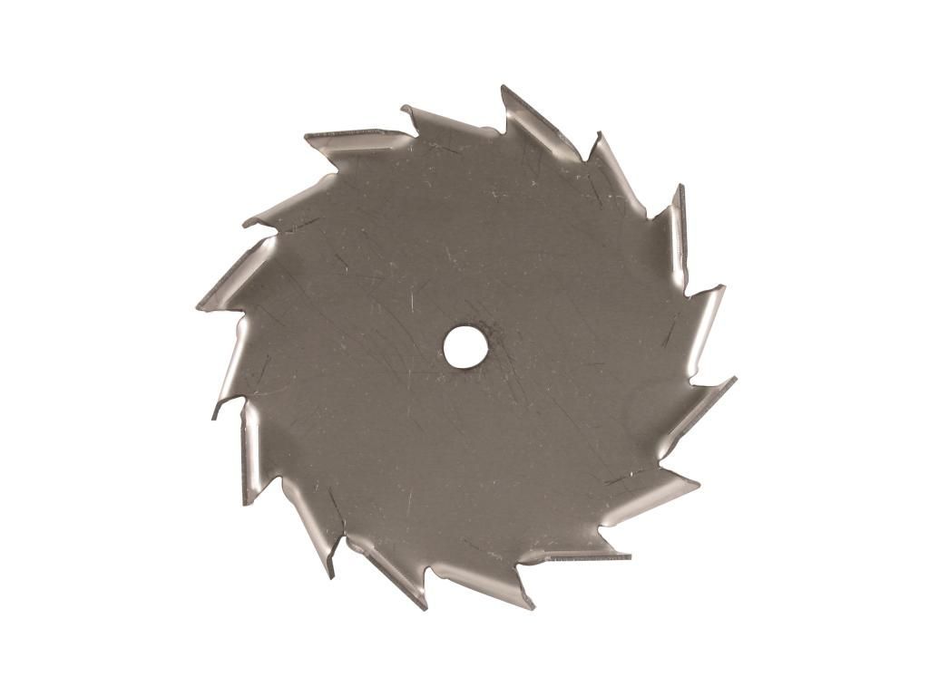 "6"" Dia. X 1/2"" Center Hole Type A 304 SS Dispersion Blade"