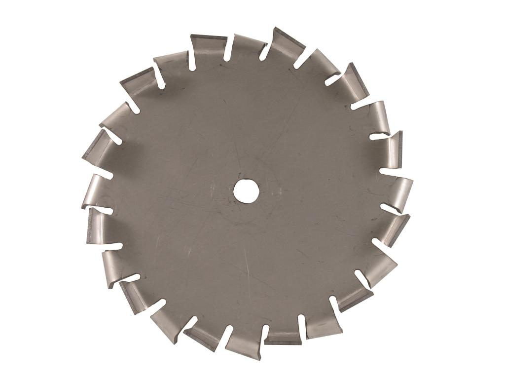 "8"" Dia. X 5/8"" Center Hole Type B 304 SS Dispersion Blade Image"