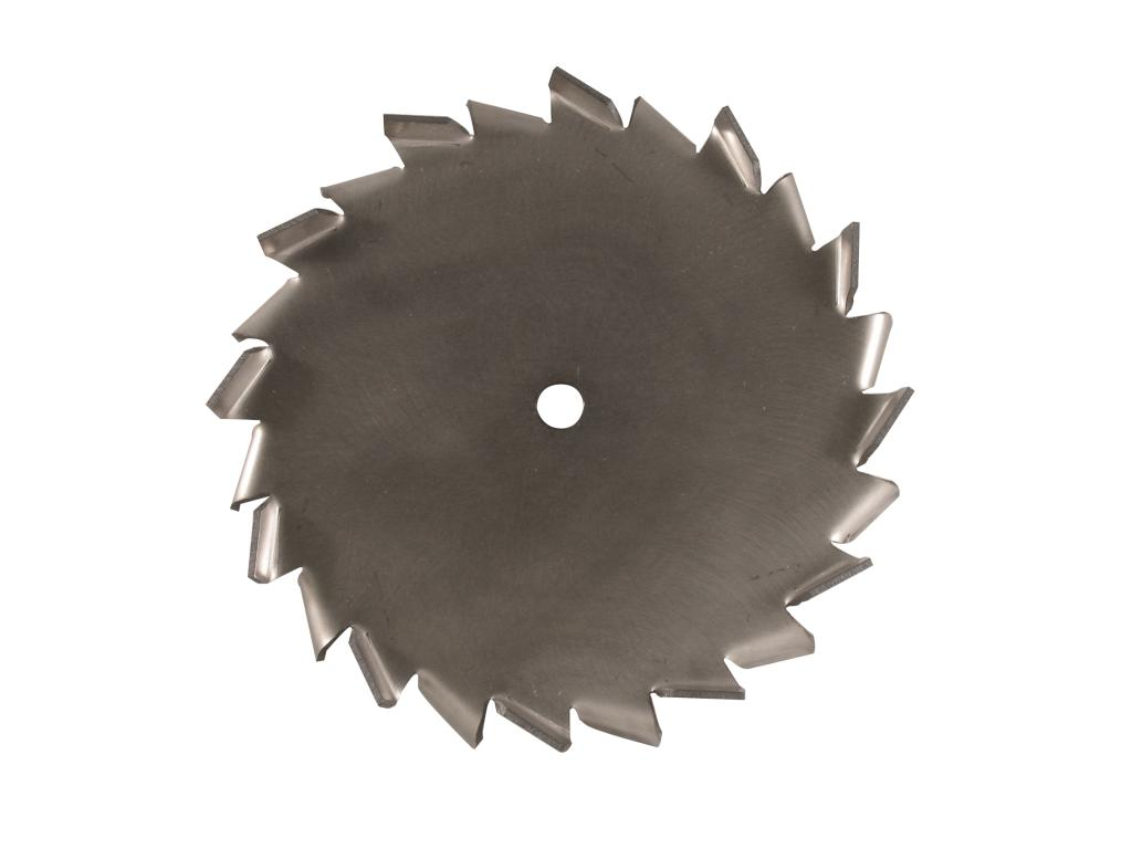 "8"" Dia. X 5/8"" Center Hole Type A 304 SS Dispersion Blade"