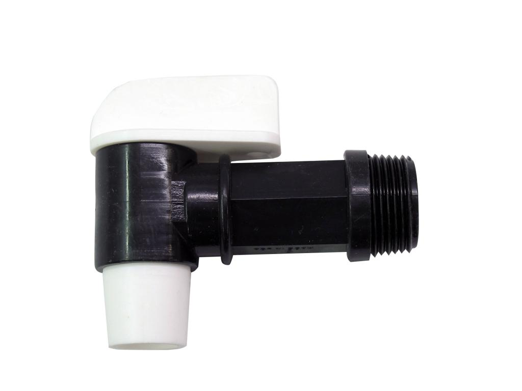 "3/4"" Polyethylene Manual Drum Faucet"