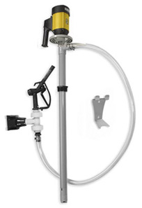 1 HP Electric Polypropylene and Carbon Drum Pump Package Image