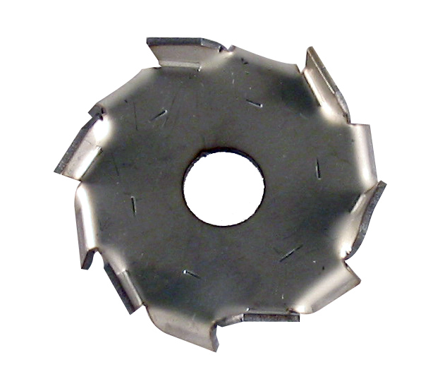 "2"" Dia. X 1/2"" Center Hole Type A 304 SS Dispersion Blade"