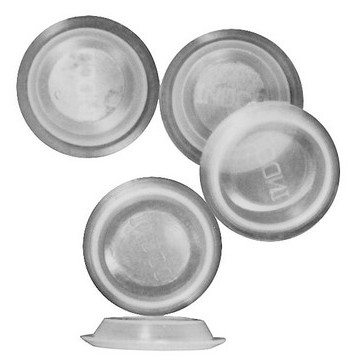 Plastic Seal Plugs, Pkg 100