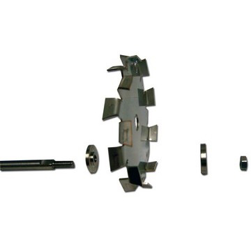 "3/8"" Dia. X 18"" Long Dispersion Blade Adapter Shaft Image"