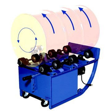 Fixed Speed Portable Drum Roller Image