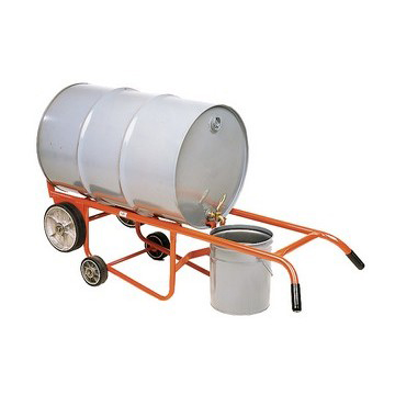 Dispensing Drum Truck with Rubber Wheels - image 2