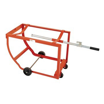 "Multi-Purpose Drum Cradle - 4"" Steel wheels - image 2"