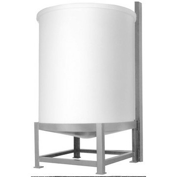 100-Gallon Cone-Bottom Polyethylene Tank Stand w/ Mixer Bracket Image