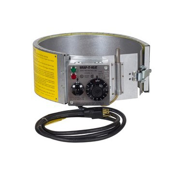 5-Gallon 120V Thermostat Controlled Drum Heater - High Range