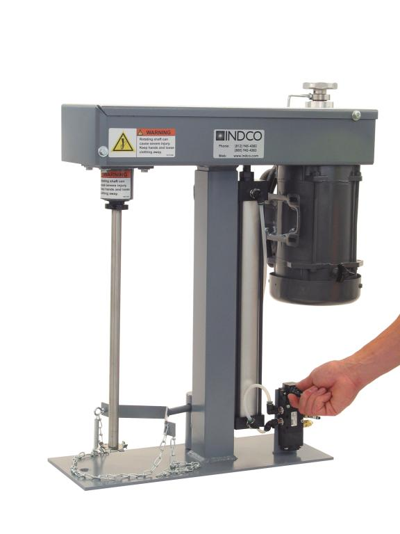 1/2 HP TEFC Electric Benchtop Disperser - image 2