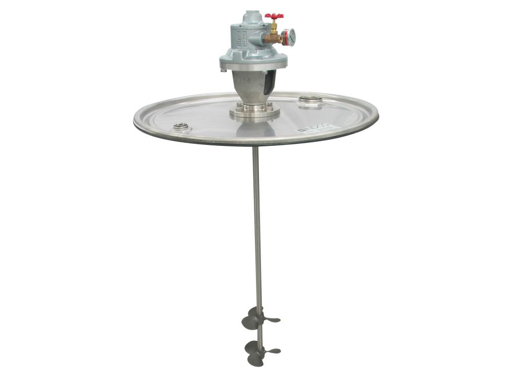 4 HP Air Direct Drive SS Drum Lid Mixer Image