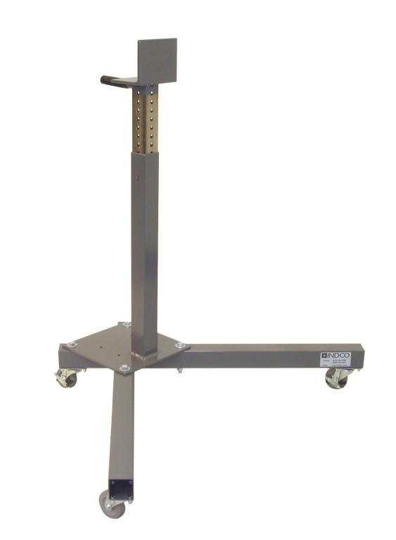 Manual Lift Style Mixer Mounting Stand with Casters