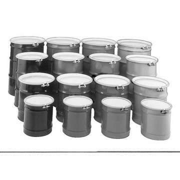30-Gallon Open-Head Cold-Rolled Steel Drum Image