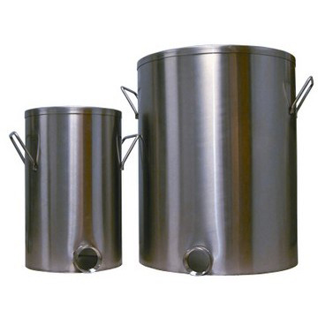 5-Gallon 304 Stainless Steel Mixing Vat
