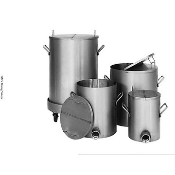 5-Gallon 304 Stainless Steel Mixing Vat - image 2
