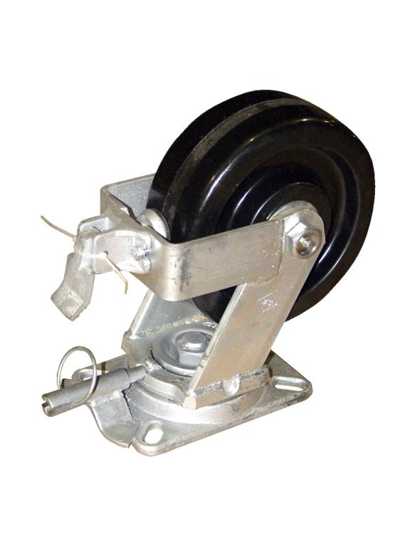 AHA Locking Casters (4) for Aluminum Crane