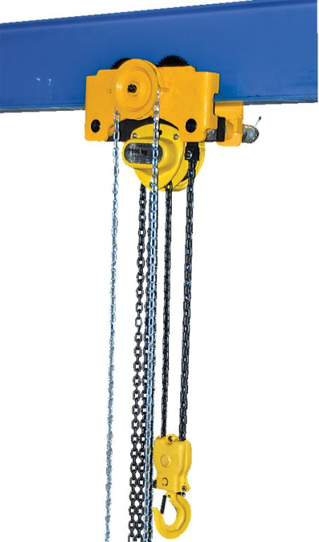 Geared Chain Hoist/Trolley