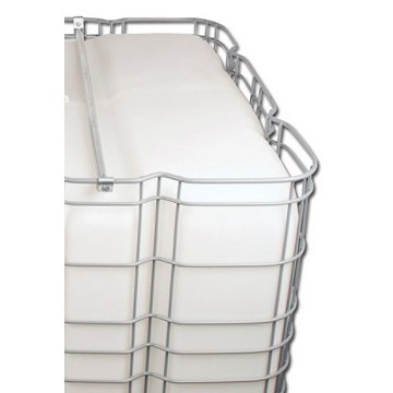 "275-Gallon IBC Bulk Container with 2"" NPT Butterfly Valve"
