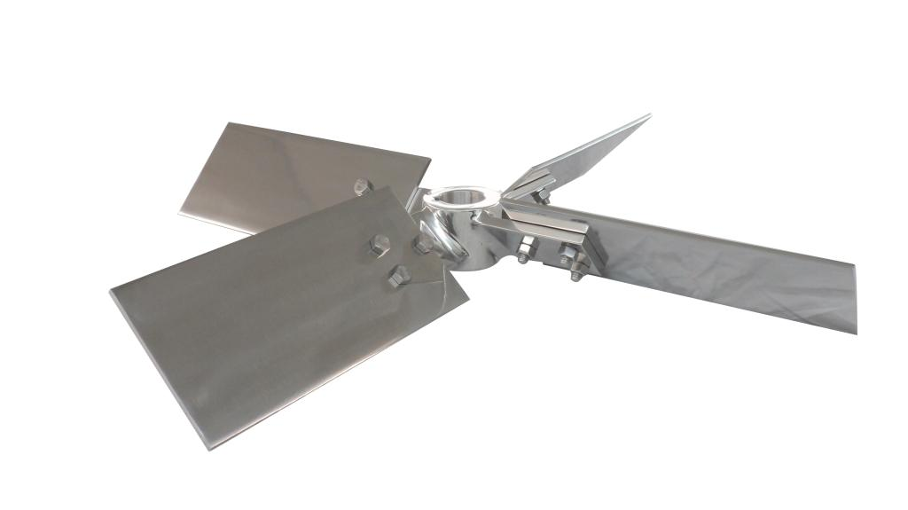 "24"" Dia. 4-Blade Axial Flow Turbine - Polished - image 2"