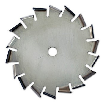 "25"" Dia. X 5/8"" Center Hole Type A 304 SS Dispersion Blade Image"