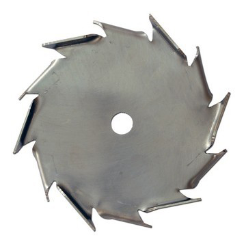 "25"" Dia. X 5/8"" Center Hole Type B 304 SS Dispersion Blade"