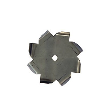 "34"" Dia. X 5/8"" Center Hole Type C 304 SS Dispersion Blade - Coated"