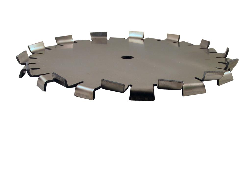 "10"" Dia. X 5/8"" Center Hole Type B 304 SS Dispersion Blade - image 2"