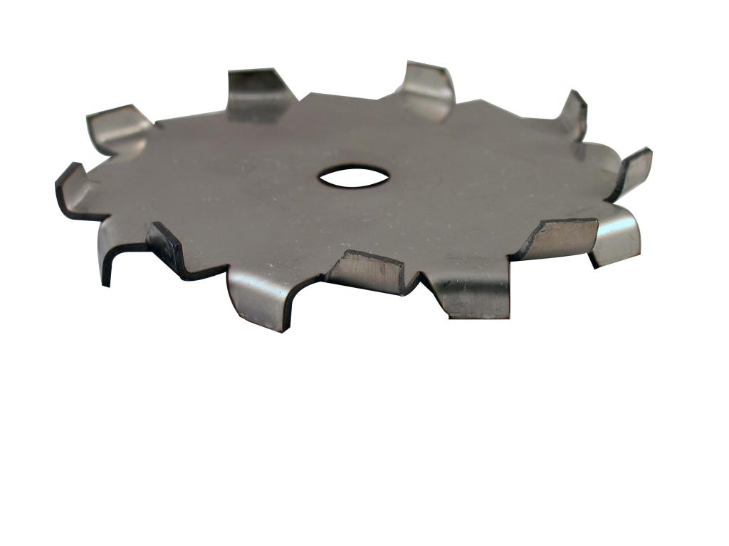 "3"" Dia. X 1/2"" Center Hole Type A 304 SS Dispersion Blade - image 2"