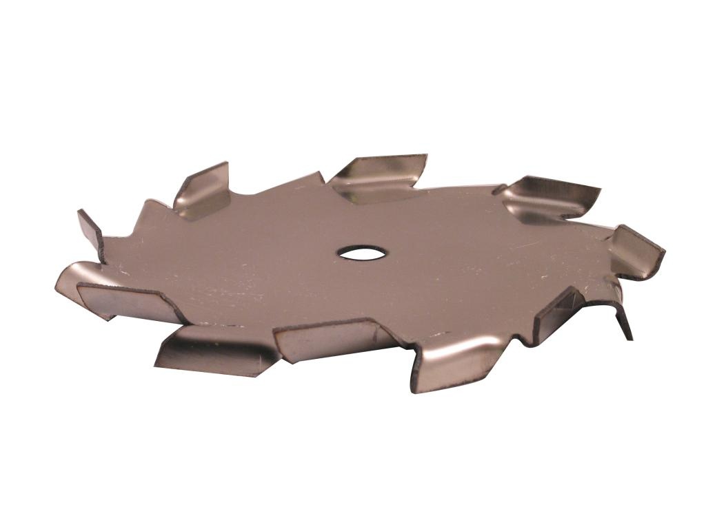 "6"" Dia. X 1/2"" Center Hole Type A 304 SS Dispersion Blade - image 2"