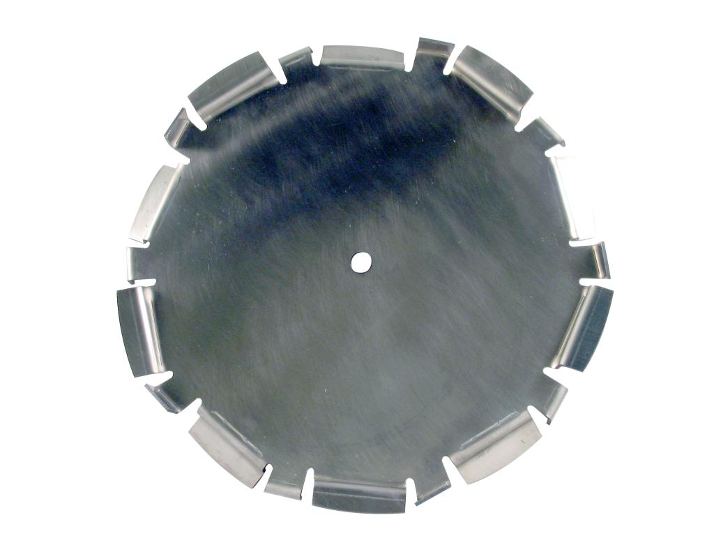"14"" Dia. X 5/8"" Center Hole Type D 304 SS Dispersion Blade - image 2"