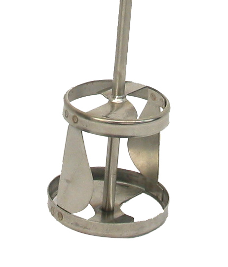 "3-1/4"" Dia Impeller Jiffy Mixer with 21"" Shaft - image 2"