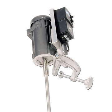 1/3 HP Variable Speed Electric Direct Drive Economy Clamp Mount Mixer - image 2