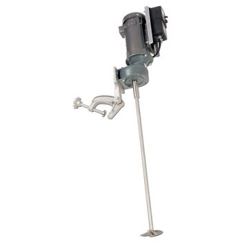 1/2 HP Variable Speed Electric Gear Drive Economy Clamp Mount Mixer Image