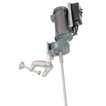1/2 HP Variable Speed Electric Gear Drive Economy Clamp Mount Mixer - image 2