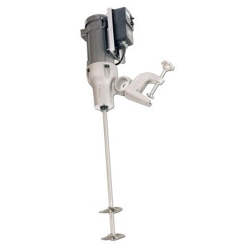 1 HP Electric Variable Speed Direct Drive Heavy Duty Clamp Mount Mixer Image