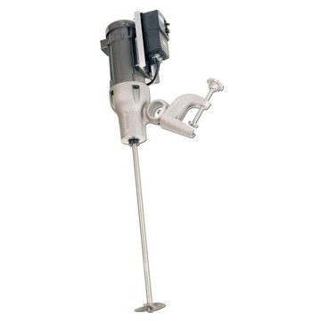 1-1/2 HP Electric Variable Speed Direct Drive Heavy Duty Clamp Mount Mixer Image