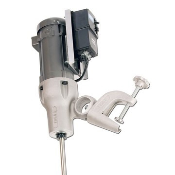 2 HP Electric Variable Speed Direct Drive Heavy Duty Clamp Mount Mixer - image 2