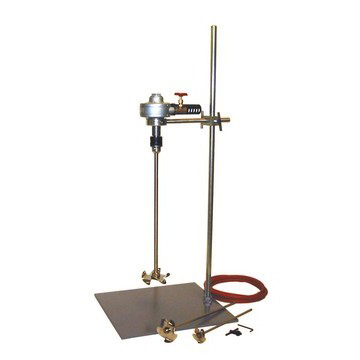 1-1/2 HP Air Stirrer & Mixed Flow Impeller Package with Stand - image 2