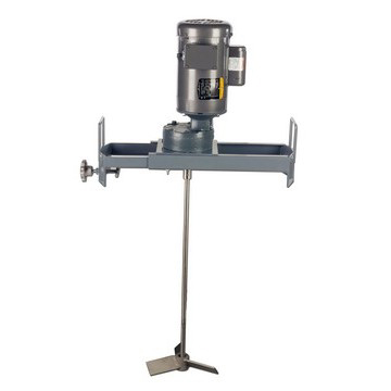 1 HP Electric Gear Drive Bracket Mount Drum Mixer Image