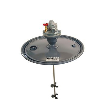 1-1/2 HP Air Direct Drive Drum Lid Mixer