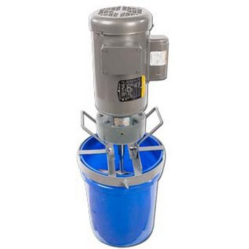 1 HP Electric 5 Gallon Heavy Duty Mixer Includes Stainless Steel Pail Cover - image 2