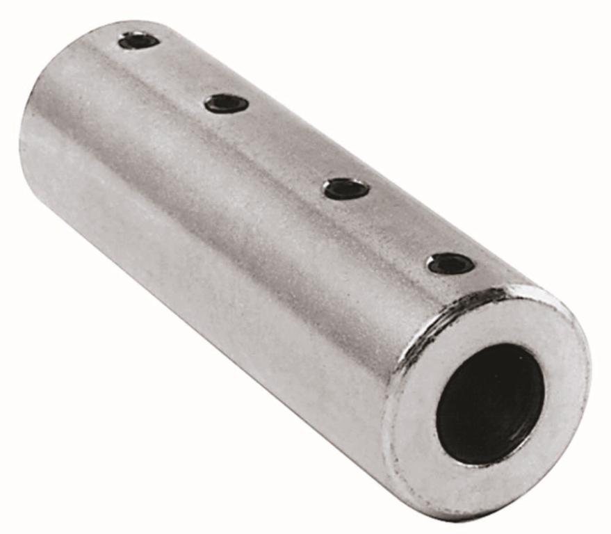 "5/8"" x 5/8"" Stainless Steel Coupler"